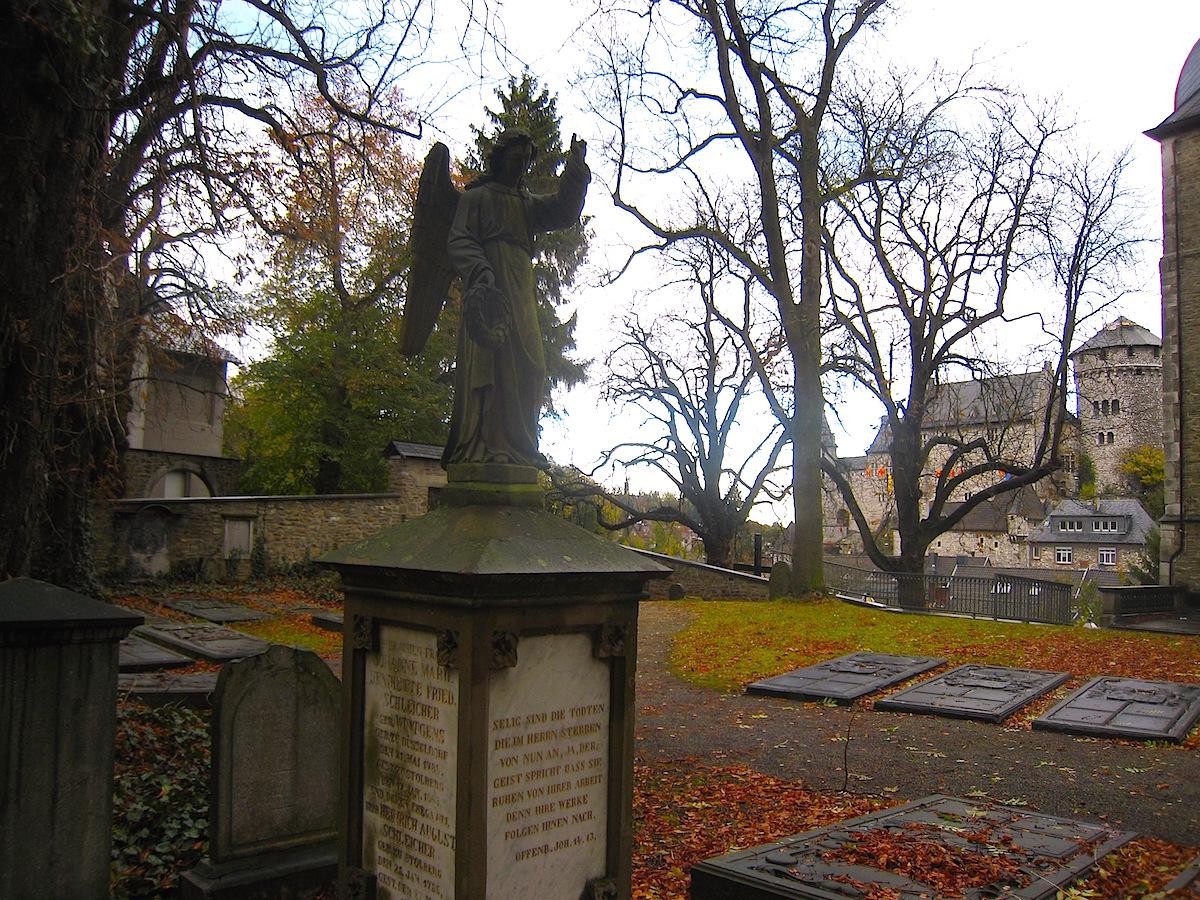 Der Kupfermeister-Friedhof von Stolberg ist einzigartig