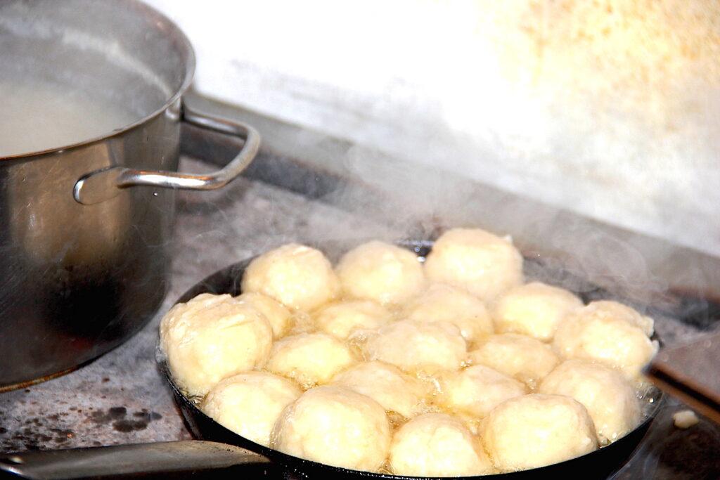 Nocka sind das traditionelle Gericht der Holzknechte im Salzkammergut