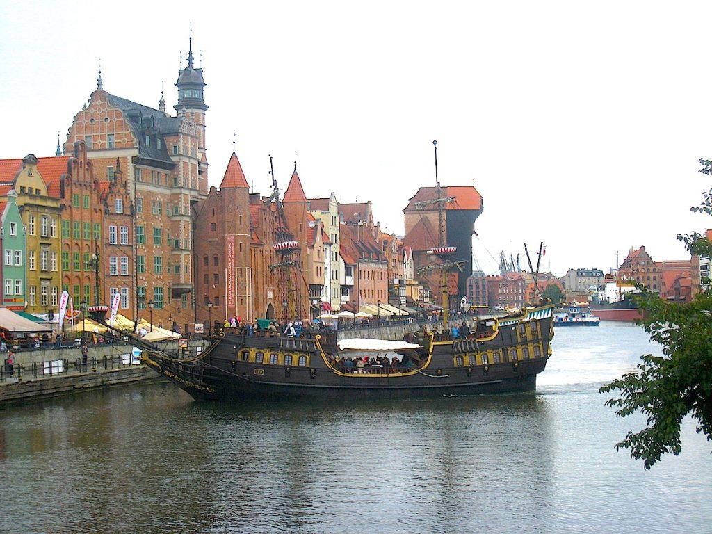 Danzig und seine Traumstrände - zwischen den Spielen bleibt genügend Zeit, um die schöne Stadt zu erkunden