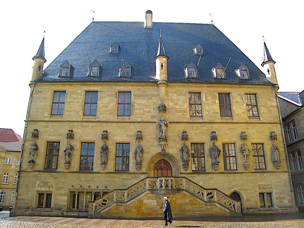 Friedensroute im Münsterland - Das Rathaus des westfälischen Friedens in Osnabrück