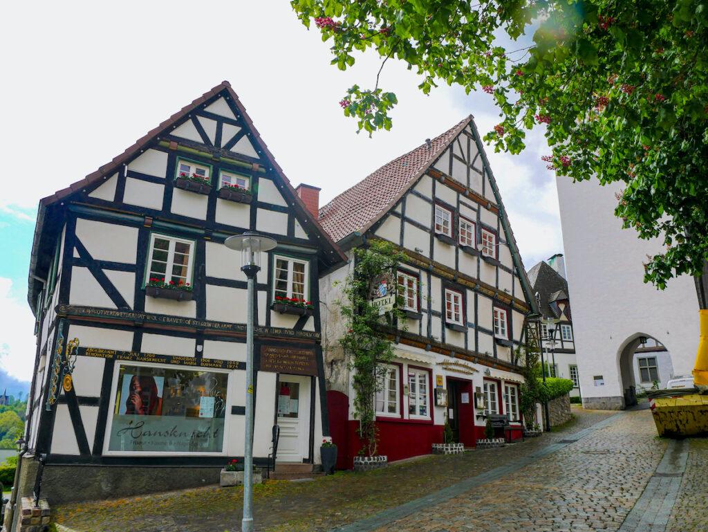 Perfekt erhaltene Häuser zeigen das Mittelalter in NRW.