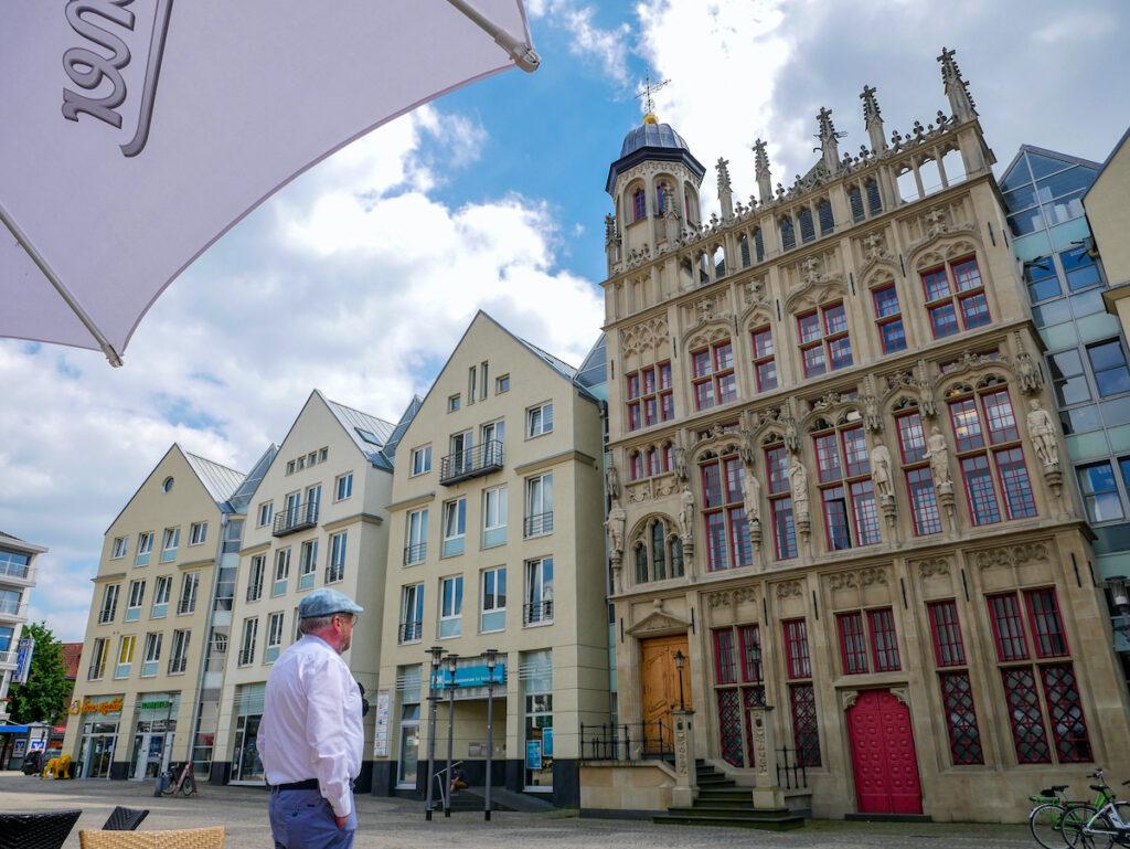 Wesel ist eine frühere Hansestadt und deshalb Station auf dem Hanseradweg.