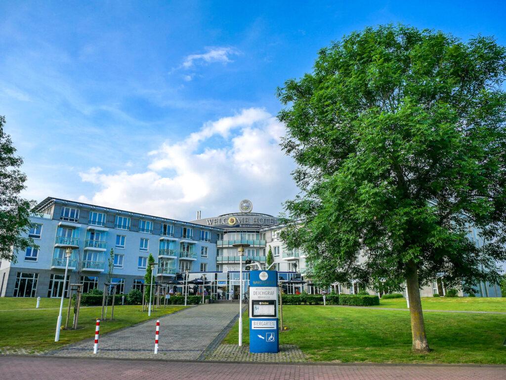 Das Welcome Hotel in Wesel ist ein Partnerbetrieb vom Hanseradweg und besonders fahrradfreundlich.